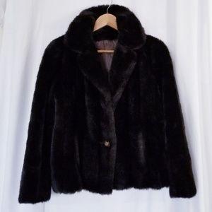 1970s Vintage Faux Fur